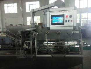 China Touch Screen automatisches Kartonierungsmaschine Hochgeschwindigkeits-PLC-Kontrollsystem usine
