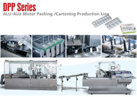 Alu Alu Blister Packing Line /Blister and  Box Packing Machine Line