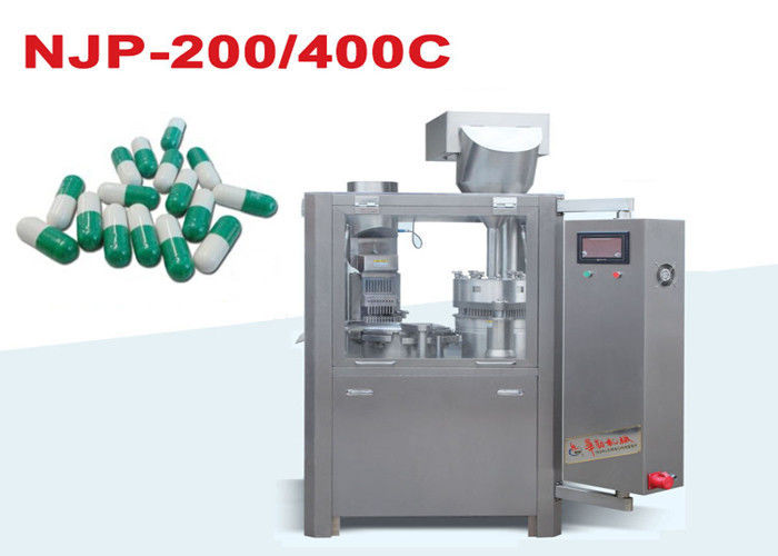 Small Automatic Capsule Filling Machine Pharmaceutical Filling Equipment Low Nosie