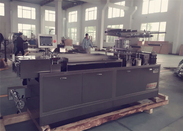 Manual Feeding System Pharmaceutical Blister Packaging Machines PLC Control