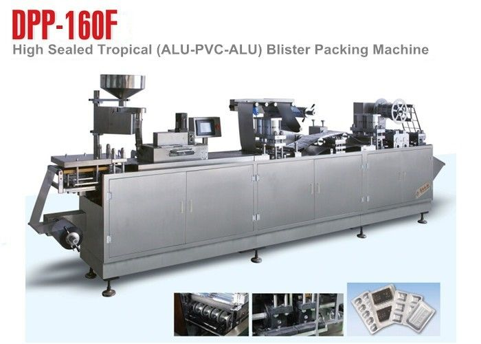Small Tropical Blister Packing Machine For High Demand Pharmaceutical